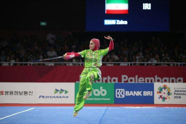 بانوی تالوکار ایران: رسیدن به مدال بازیهای آسیایی آرزوی من است