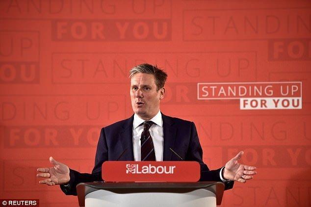 حزب کارگر بریتانیا توافق بریگزیت ترزا می را رد می نماید