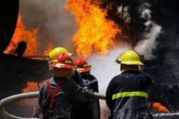 آتش سوزی کارخانه کبریت در تبریز خسارات جانی درپی نداشت