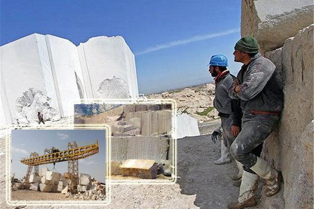صنعت سنگ در توقف و سرگشتگی، ظرفیت عظیم ارزآوری رو به افول رفت