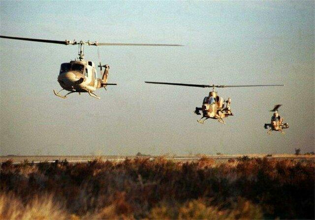 8 فروند بالگرد ارتش بازسازی شدند