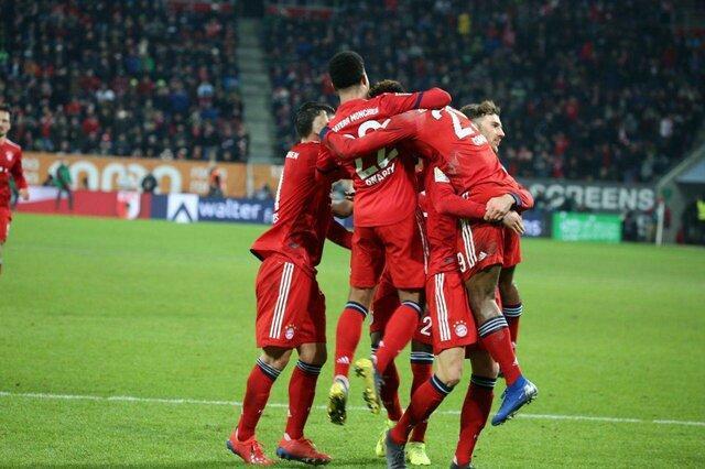 پیروزی سخت بایرن مونیخ قبل از بازی با لیورپول