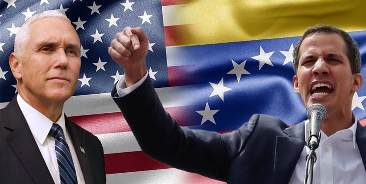 مایک پنس در کلمبیا با رهبر مخالفان ونزوئلا دیدار می نماید