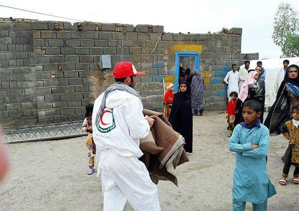 217 گرفتار سیلاب سیستان و بلوچستان اسکان داده شدند