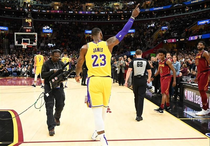 لیگ NBA، جیمز و لیکرز به آخر خط رسیدند