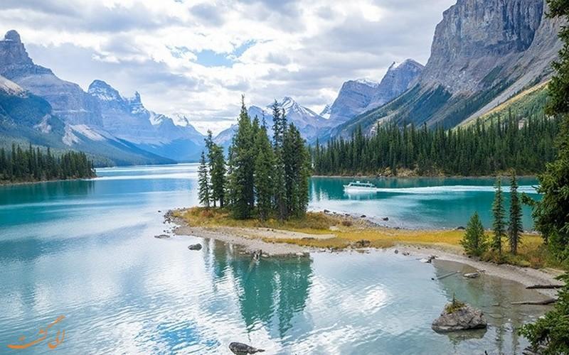 معرفی بعضی از جاذبه های طبیعی استان آلبرتا کانادا
