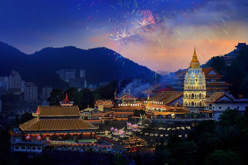 سفر 2 روزه به پنانگ، مالزی