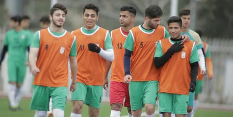 هم گروهی تیم فوتبال جوانان با آرژانتین، یونان و ترکیه