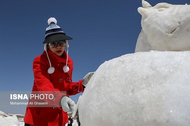 برگزیدگان جشنواره مجسمه های برفی و یخی تعیین شدند