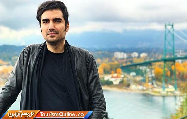 تصویری از هنرمند جوان ایرانی در ونکوور