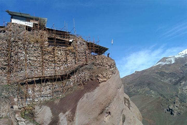 قلعه تاریخی حسن صباح به سامانه فروش بلیت الکترونیک مجهز شد