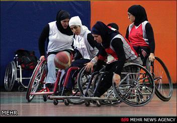 تیم بسکتبال با ویلچر بانوان ایران مقابل تایلند پیروز شد