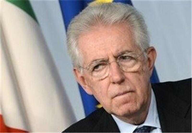 مونتی اتهامات اقتصادی علیه دولت ایتالیا را تکذیب کرد