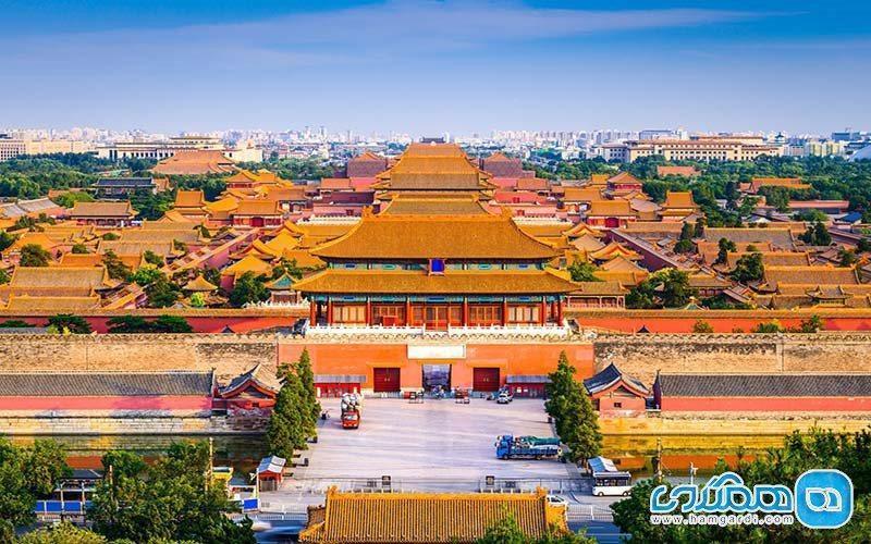 شهر ممنوعه چین ، مجموعه ای از قصرهای قدیمی چوبی