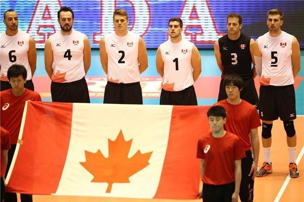 رجحان کانادا برابر ایران در ست دوم