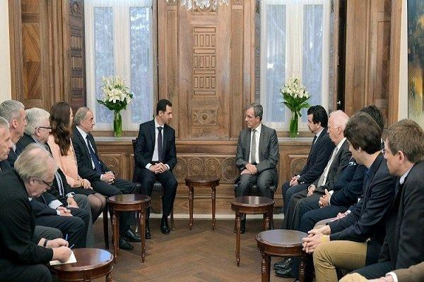 سفر هیات ایتالیایی به سوریه با هدف عادی سازی روابط