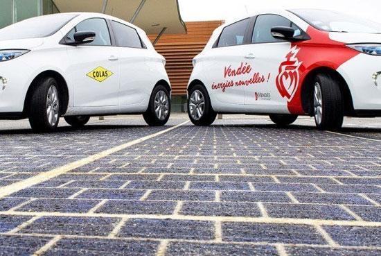 جاده های اروپا با پنل خورشیدی فرش می شوند