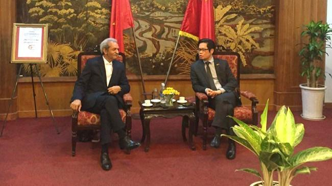 حمایت دولت و مجلس ایران از توسعه روابط بخش خصوصی ایران و ویتنام