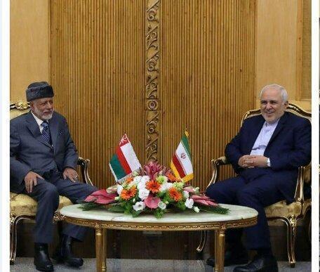 در دیدار ظریف با همتای عمانی چه گذشت؟، عکس