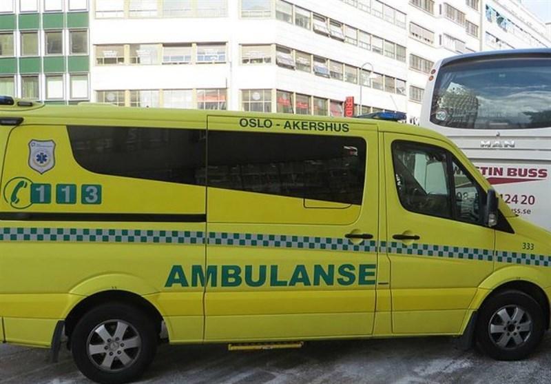 آمبولانس سرقت شده در نروژ چندین نفر را زیر گرفت
