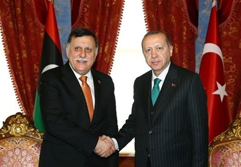 دیدار اردوغان با فائز السراج در استانبول