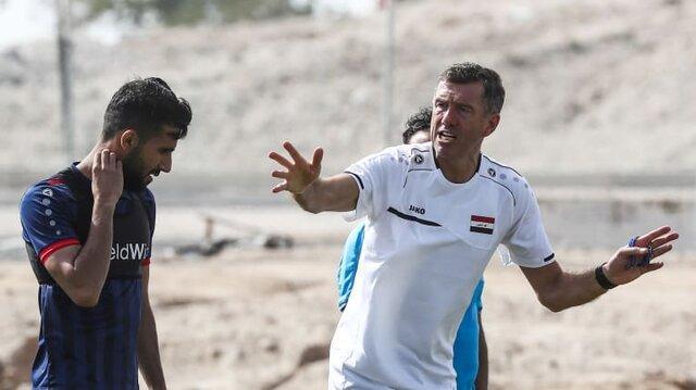 سرمربی عراق: بازی با یمن و ویتنام از بازی با ایران سخت تر است