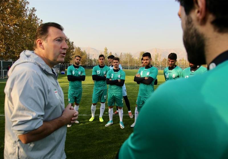 اعلام دومین برنامه تمرینی تیم ملی فوتبال برای رسانه ها
