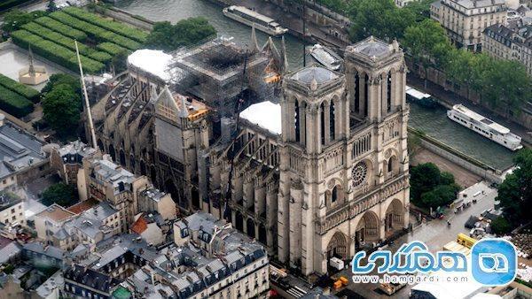 مرمت کلیسای نوتردام پاریس وارد فصلی تازه شد