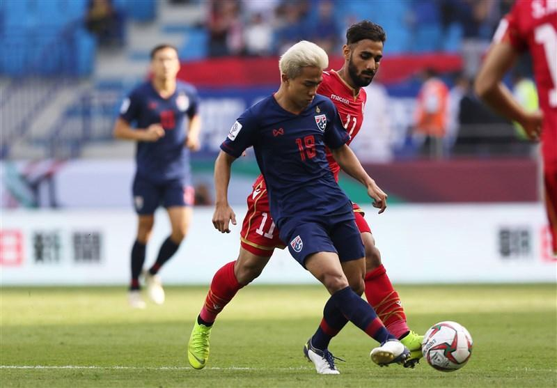 جام ملت های آسیا، امیدواری تایلند به صعود با پیروزی برابر بحرین