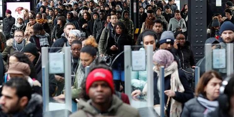 سرگردانی مسافران کریسمس در فرانسه همزمان با بیستمین روز اعتصاب ها