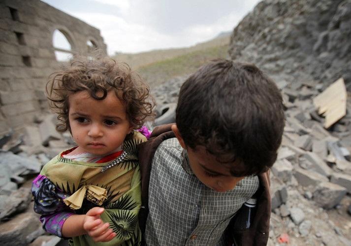 4 میلیون آواره در تجاوز جگی ائتلاف سعودی به یمن