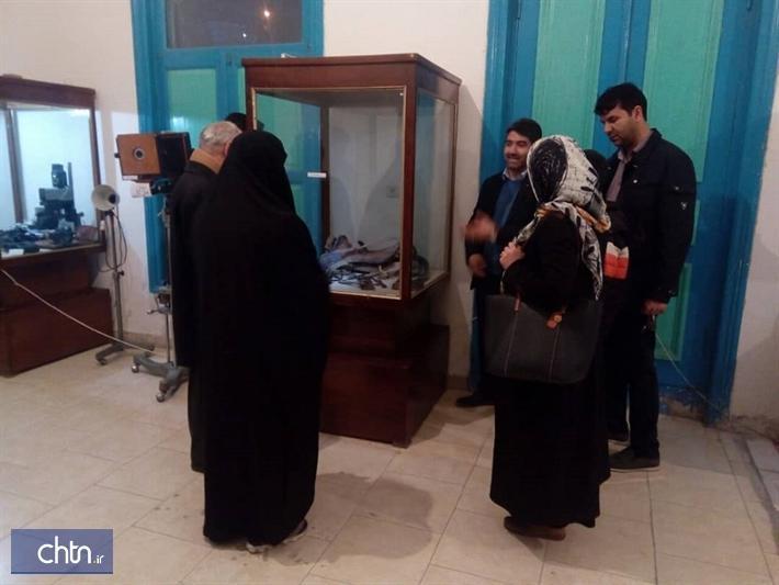 برپایی نمایشگاه اشیای قدیمی در خانه حسن خان تیموری ماکو