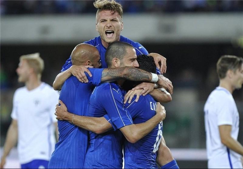 پیراهن ایتالیا برای جام جهانی 2018