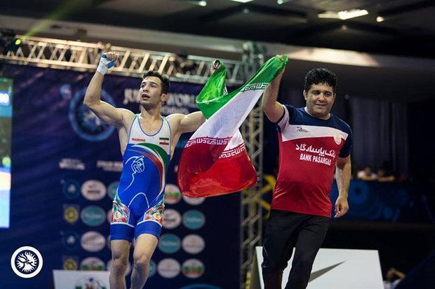 ناصرپور به مدال طلا دست یافت، دلخانی برنز گرفت