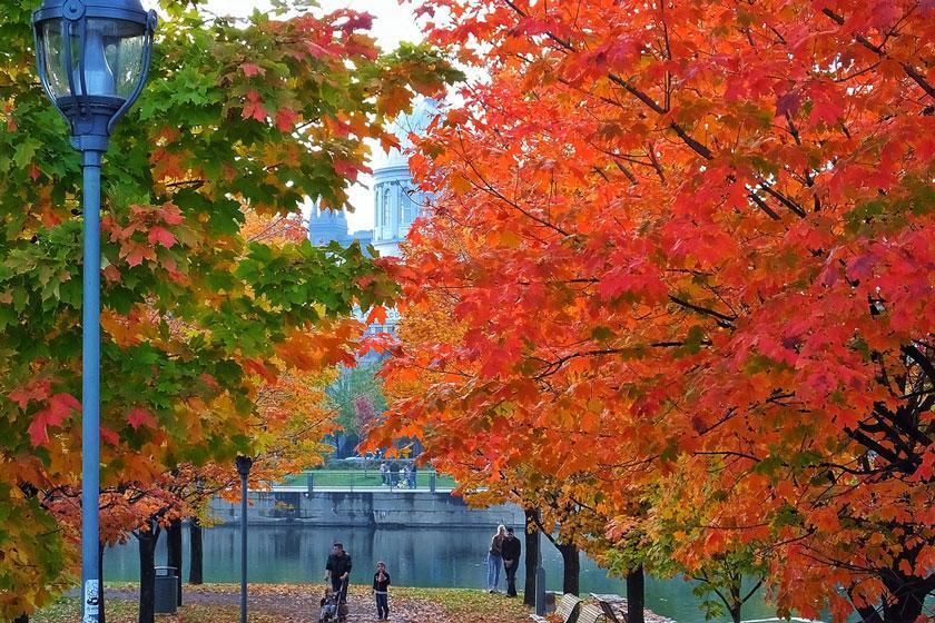 کانادا و جشنواره های پاییزی بی نظیرش