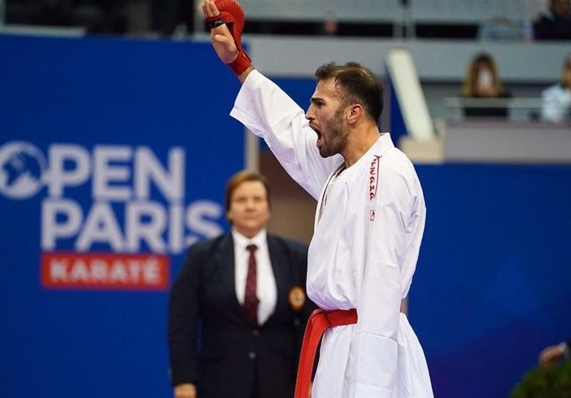 کاراته وان اتریش، عسگری در سالزبورگ هم دست از صید مدال طلا نکشید، تداوم درخشش مرد المپیکی کاراته ایران