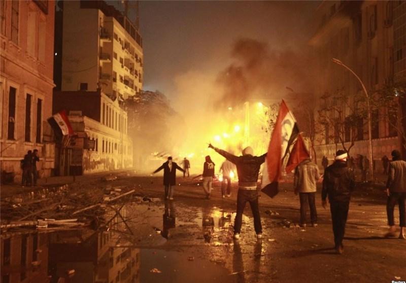 محاصره ساختمان تلویزیون دولتی مصر توسط هواداران مرسی