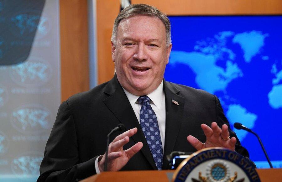 اتهام زنی دوباره پمپئو علیه ایرن و چین ، آمریکا به اطلاعات دقیق چین، ایران و ایتالیا احتیاج دارد