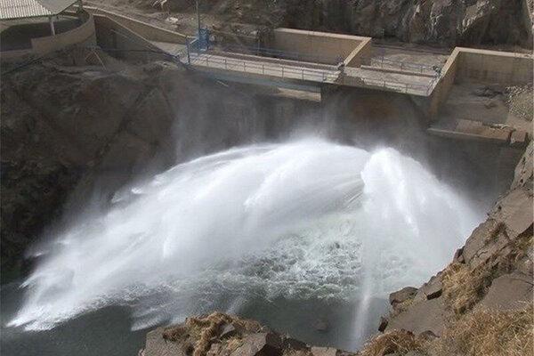 بخشی از آب 4 سد خراسان شمالی در حال رهاسازی است
