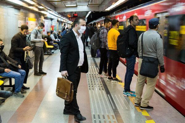 ارسال پیامک ارشادی به مسافران مترو