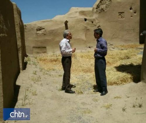 فضاهای تاریخی دژ معبد نوشیجان بازسازی می گردد
