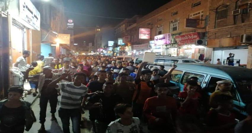 خبرنگاران نیروهای مورد حمایت امارات تظاهرات یمنی ها در عدن را سرکوب کردند