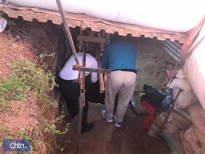 دستگیری 2 حفار غیر مجاز در منطقه باستانی ینگی امام هشتگرد