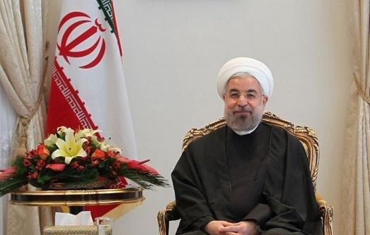 روحانی روز ملی جمهوری آذربایجان را تبریک گفت