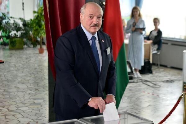 الکساندر لوکاشنکو در انتخابات ریاست جمهوری بلاروس پیشتاز است