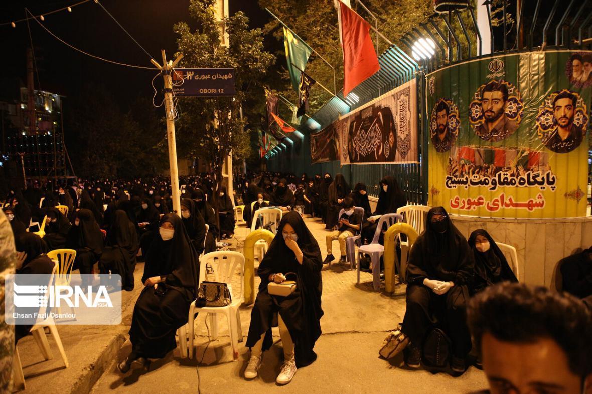 خبرنگاران نمره قبولی عزاداری مازندرانی ها در رعایت پروتکل های بهداشتی