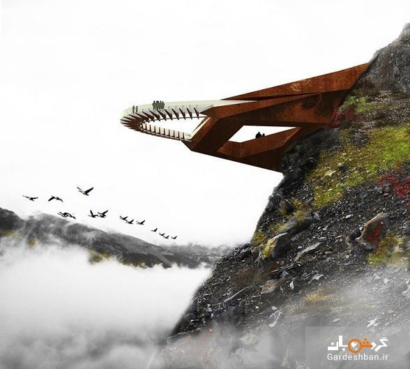 هیجان را در چشم انداز فراز قله آلبرتا تجربه کنید