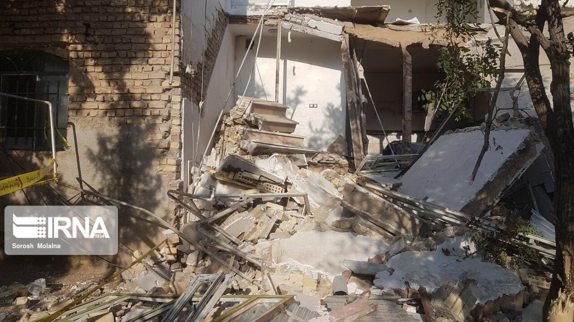خبرنگاران انفجار گاز در همدان 2 کشته بر جا گذاشت