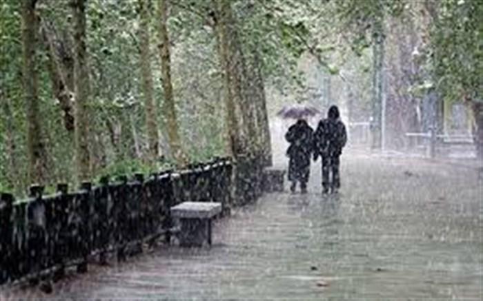 کدام استان ها بارانی می شوند
