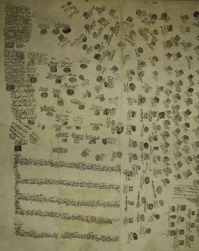 بیش از 1000 سند مرتبط با وقف بازسازی شد